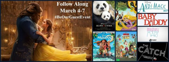 Disney Beauty and the Beast Be Our Guest Press Junket