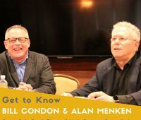 Beauty and the Beast's Director Bill Condon & Music Composer Extraordinaire Alan Menken #BeOurGuest