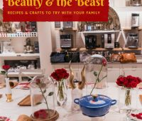 Beauty & the Beast inspired recipes and crafts