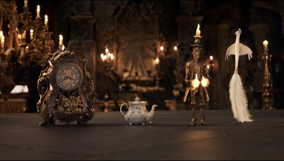 Beauty and the Beast animated characters