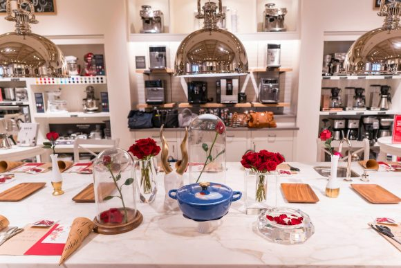 Beauty and the Beast blogger event at Williams Sonoma
