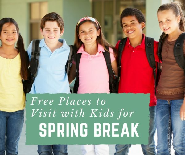 Free Places to Visit during Spring Break with Kids