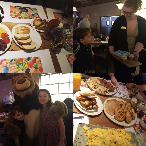Kalahari Character Breakfast at Kalahari Resort restaurants in the Poconos