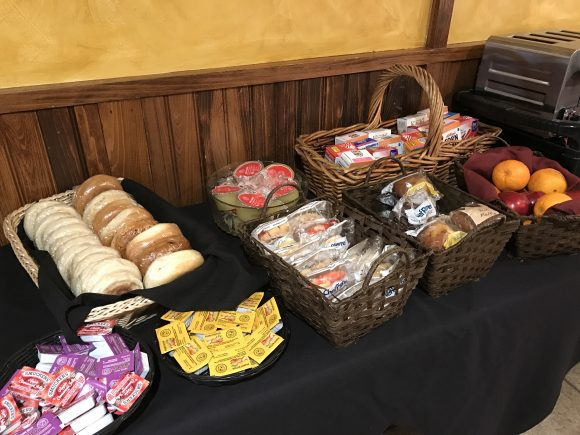 Continental Breakfast at the Winwood Inn & Condos in Windham, New York