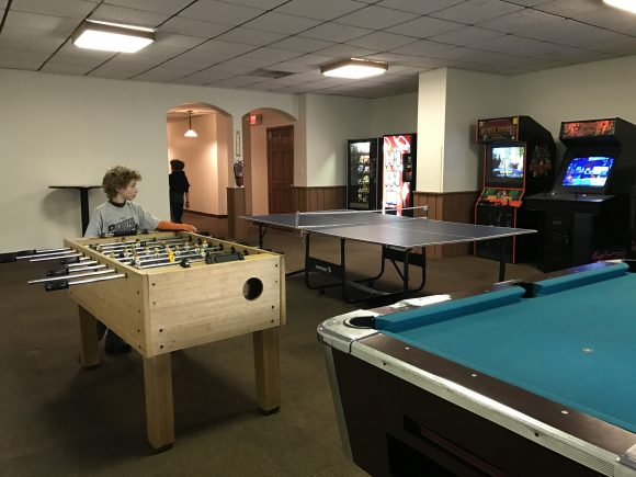 gameroom at Windwood Inn and Condos at Windham Mountain