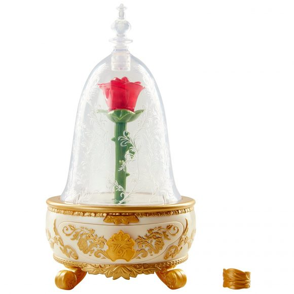 Disney Beauty & The Beast Enchanted Rose Jewelry Box Toy