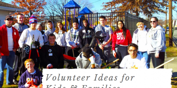 5 Easy Volunteer Ideas for Kids & Families that Make a Difference
