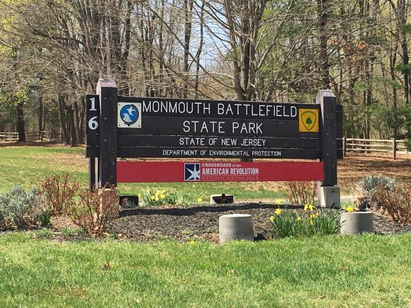 Monmouth Battlefield State Park in Manalapan, Monmouth County New Jersey