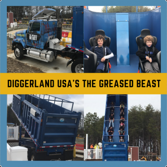 Diggerland USA newest ride the Greased Beast in Berlin New Jersey
