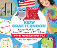 A.C. Moore Summer Fun Wednesdays