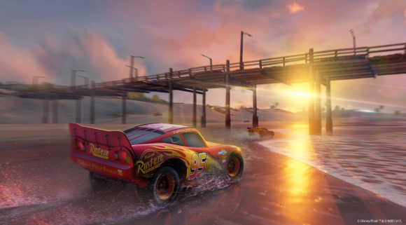 Cars 3: Driven to Win video game screen shot
