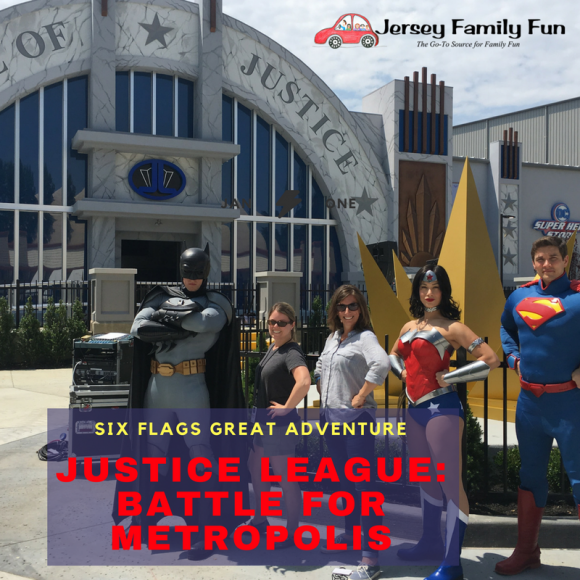 Six Flags Great Adventure JUSTICE LEAGUE: Battle For Metropolis in Jackson, New Jersey