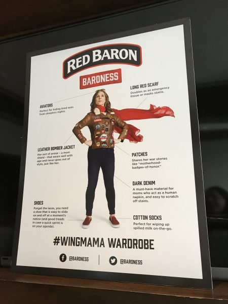 Red Baron Pizza Wingmama event in NYC