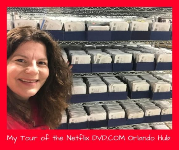My Tour of the Netflix DVD Hub in Orlando