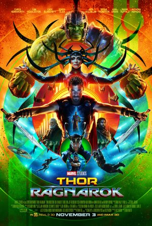 Marvel Studios' THOR: RAGNAROK movie poster