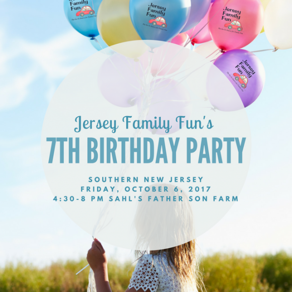 Jersey Family Fun's 7th Birthday Party