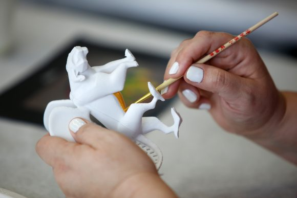 Making our own alebrijes in a crafting session with Disney Pixar COCO