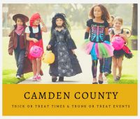Camden County Trick or Trick or Treat Times