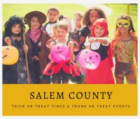 Salem County Trick or Treat Times