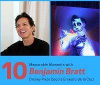 10 Memorable Moments with Benjamin Bratt, Disney Pixar Coco's Ernesto de la Cruz #PixarCocoEvent