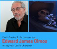Family Stories and Life Lessons from Edward James Olmos Disney Pixar Coco's Chicharron