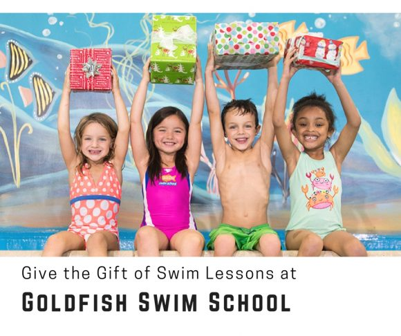 Give the Gift of Swim Lessons at Goldfish Swim School This Holiday Season
