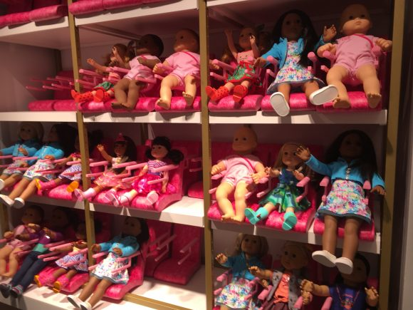 look inside the new american girl place nyc jersey family fun. Black Bedroom Furniture Sets. Home Design Ideas