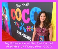 My Experience at the Red Carpet Premiere of Disney Pixar COCO