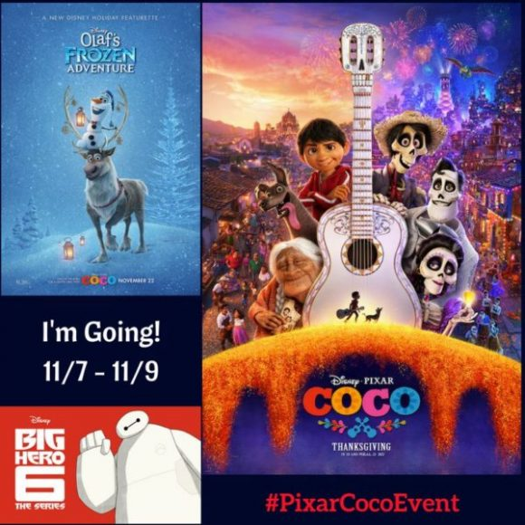 Pixar COCO Press Junket