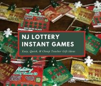 New Jersey Lottery Instant Games Easy, Quick, & Cheap Teacher Gift Ideas