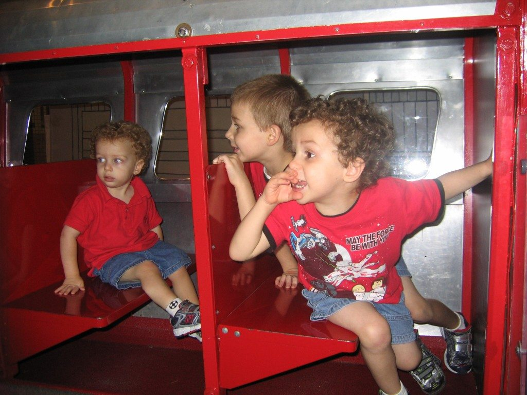 Monorail at at please touch museum in Philadelphia Photo credit Jersey Family Fun