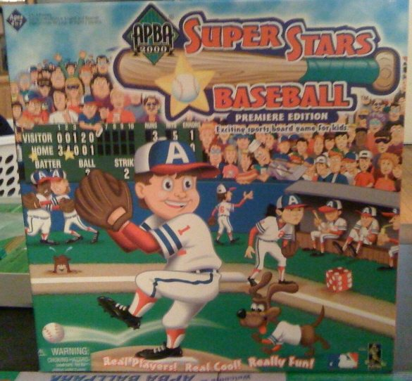 super starts baseball game from Apba sports