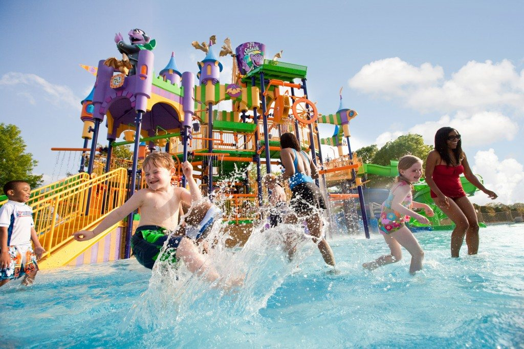 Waterpark at Sesame Place in Langhorne PA