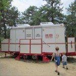 popcorn park zoo, portable bathrooms