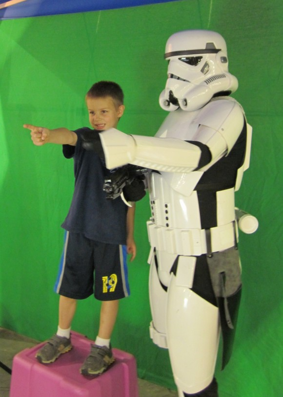 Star Wars at Wizard World Comic Con 2012