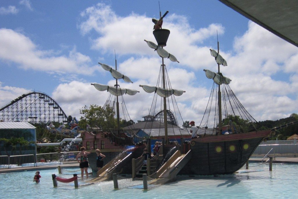 Shipwreck Bay at Clementon Park waterpark in Clementon NJ