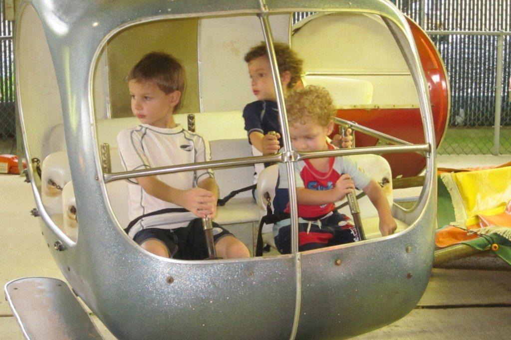 Children Rides at Clementon Park