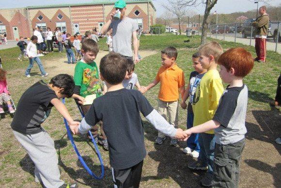 School Kids at Field Day