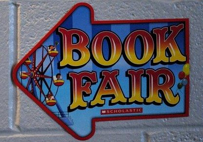 Scholastic Book Fair sign
