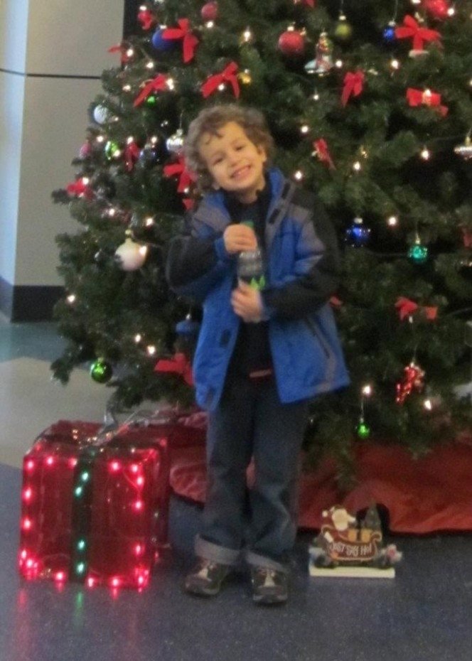 Z with Christmas Tree