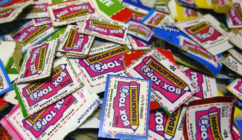 Box Tops Image Incentive