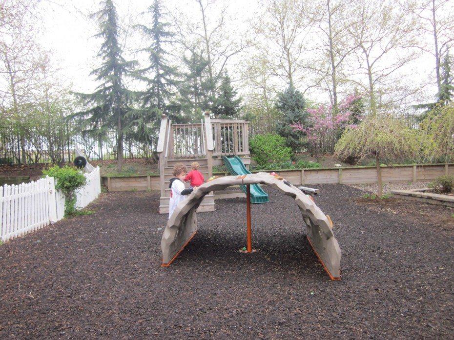 THE Camden Children's Garden even offers a fitness playground.
