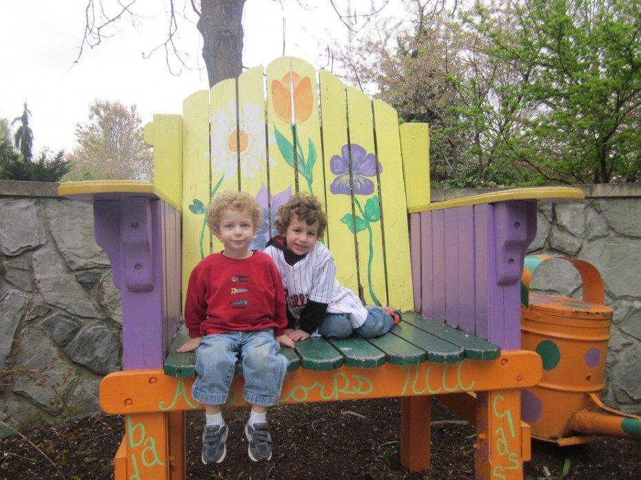 Camden Children's Garden Giant Garden