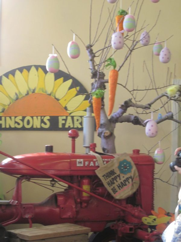Easter tree at Johnson's Farm in Medford New Jersey