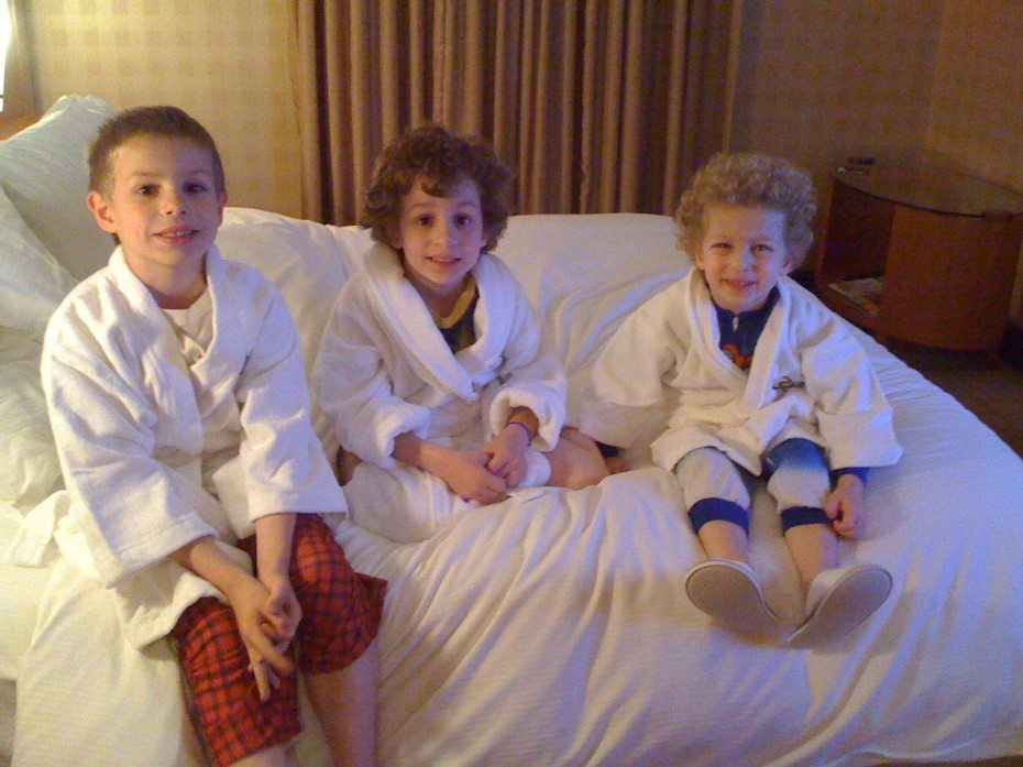 One of our first Philadelphia Staycations with kids at the Hotel Sofitel