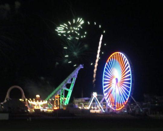 Wildwood Fireworks on July 4th