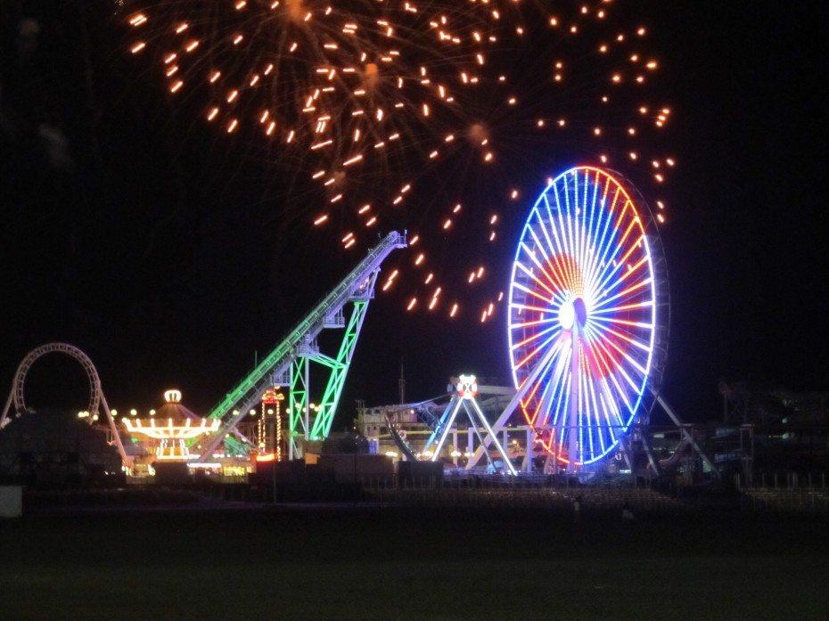 Friday Night Fireworks in Wildwood