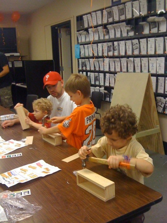 Home Depot Kids Workshops