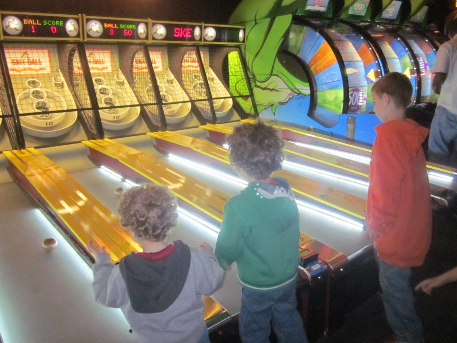 Fun, Games, & Food at Dave & Buster's Penns Landing - Family