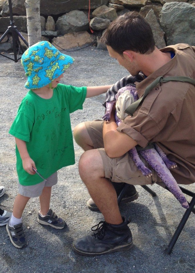 In what other state can you pet a baby dinosaur? |Photo Credit Jersey Family Fun
